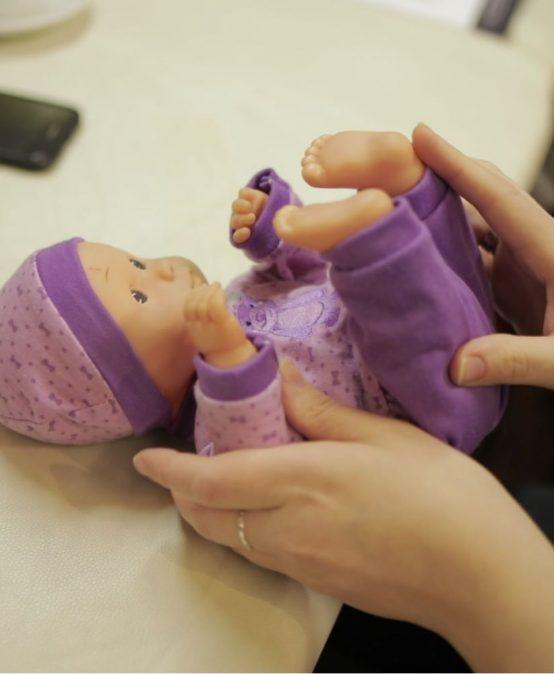 Dziecko z hemiplegią