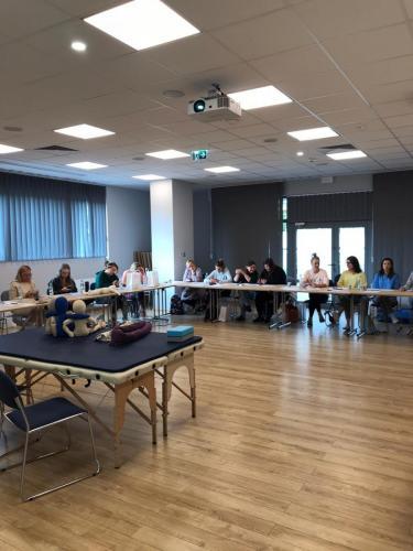 Relacja z szkolenia dziecko z hipotonia Liana Milioti oraz Kyriakos Atmatzakis (49)