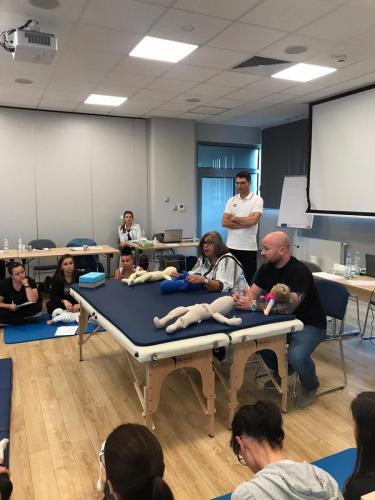 Relacja z szkolenia dziecko z hipotonia Liana Milioti oraz Kyriakos Atmatzakis (60)