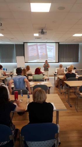 Szkolenie z Iwona Palicka - wcześniaki (2)